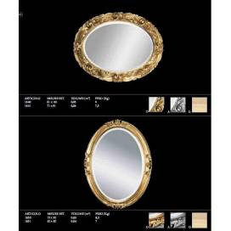 Euromobilit Зеркала круглые и овальные классика - Фото 10