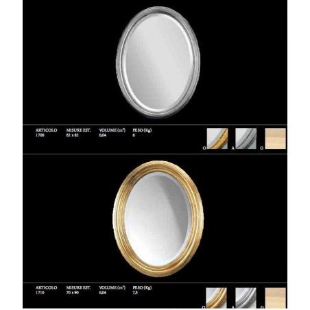 Euromobilit Зеркала круглые и овальные классика - Фото 13