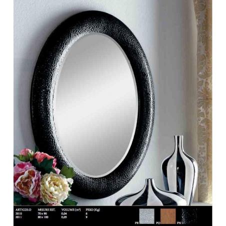 Euromobilit Зеркала круглые и овальные классика - Фото 14