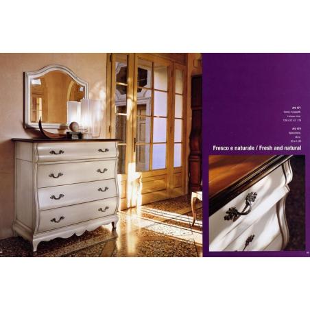 Euromobilit Madeira Bianco спальня - Фото 3