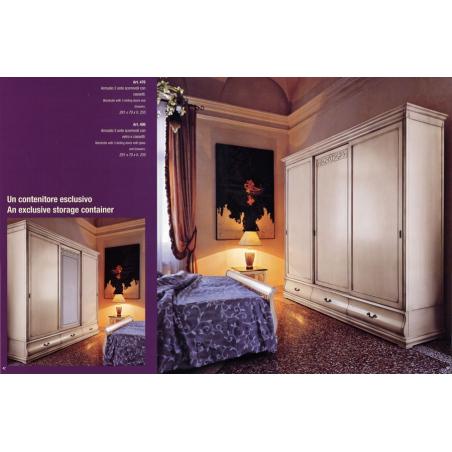 Euromobilit Madeira Bianco спальня - Фото 6