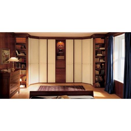 Dall'Agnese Unico спальня, гардеробная - Фото 4