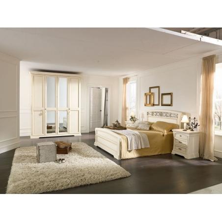 Venier Aurora avorio спальня - Фото 5