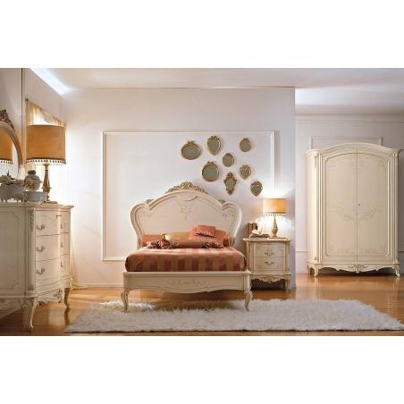 Valderamobili Principe Lasquered спальня - Фото 12
