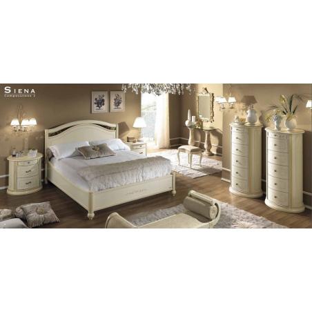 Camelgroup Siena Avorio спальня - Фото 4