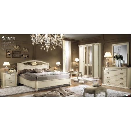 Camelgroup Siena Avorio спальня - Фото 9