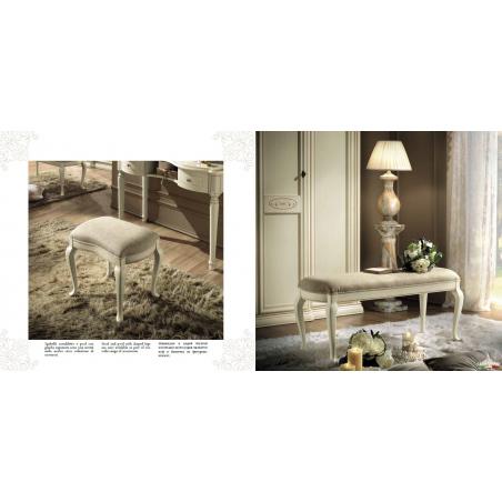 Camelgroup Siena Avorio спальня - Фото 13