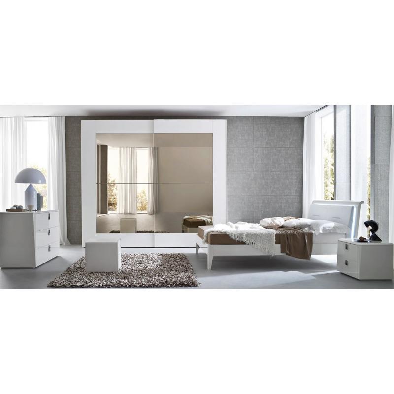 Serenissima Prisma laccato bianco спальня