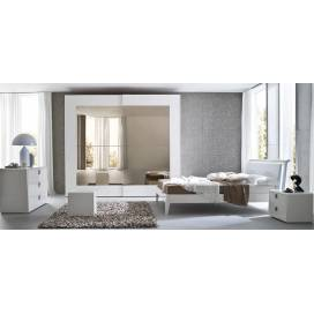 Serenissima Prisma laccato bianco спальня - Фото 1
