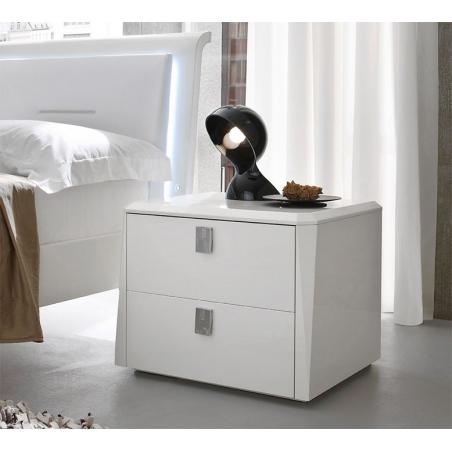 Serenissima Prisma laccato bianco спальня - Фото 3