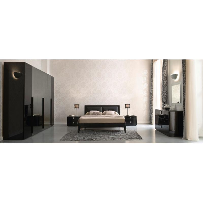 Serenissima Prisma laccato nero спальня