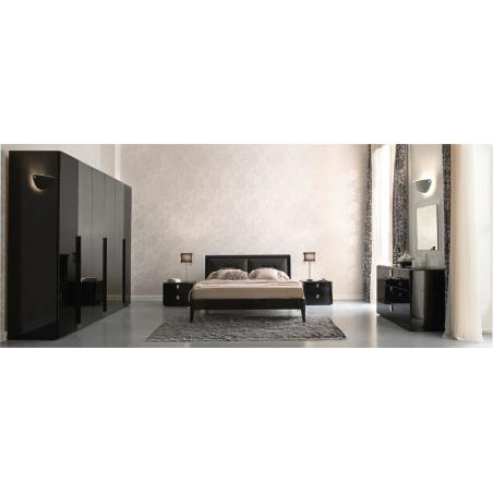 Serenissima Prisma laccato nero спальня - Фото 1