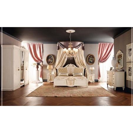 Tempor Grazia laccata bianca спальня - Фото 1