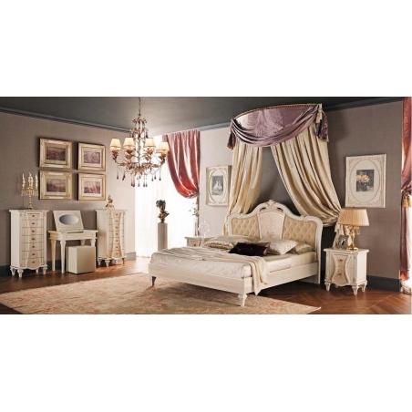 Tempor Grazia laccata bianca спальня - Фото 3