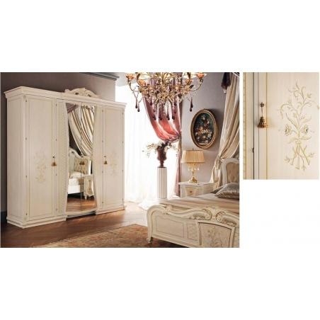 Tempor Grazia laccata bianca спальня - Фото 5