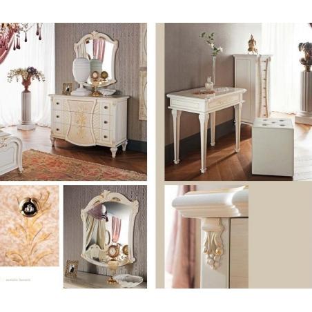 Tempor Grazia laccata bianca спальня - Фото 8