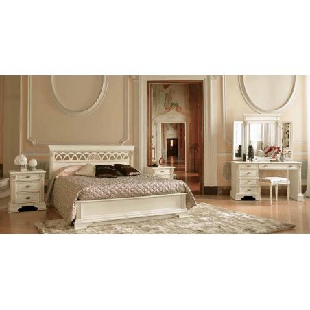 Claudio Saoncella Puccini bianco спальня - Фото 4