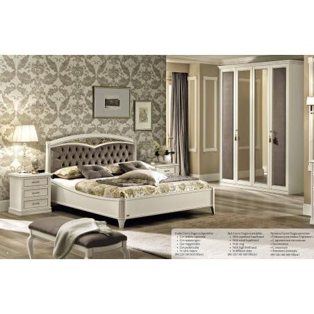 Camelgroup Nostalgia Bianco Antico спальня - Фото 3