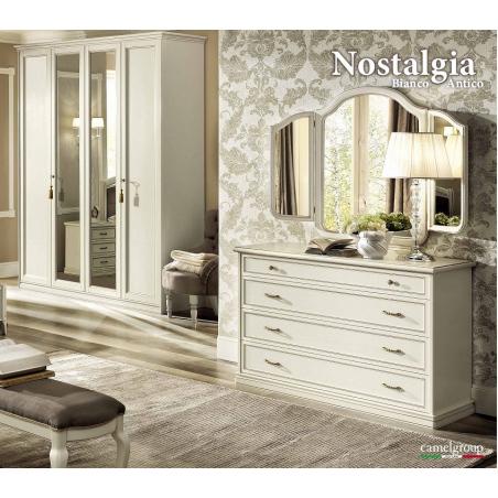 Camelgroup Nostalgia Bianco Antico спальня - Фото 4