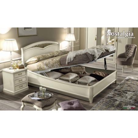 Camelgroup Nostalgia Bianco Antico спальня - Фото 10