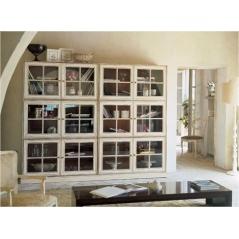 Angela Bizzarri Biron гостиная и библиотека
